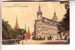 2900 OLDENBURG, Schloss & Lambertikirche, Color, Ca. 1905 - Oldenburg