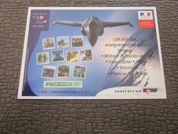 TOURS  CPM Publicitaire Publicité Militaria Armée De L'air Offre Recrute Info Carrière A Tours - Militaria