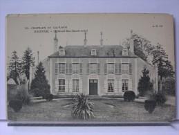 CHATEAUX DU CALVADOS - LINGEVRES - LE MESNIL DAN (FACADE NORD) - France
