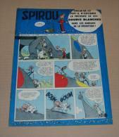 Spirou N° 1003 Oncle Paul, Gaston, Spirou Auto Jidehem 4/7/1957 Tbe - Spirou Magazine