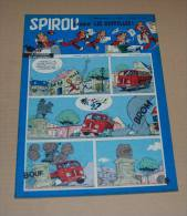 Spirou N° 1006 Oncle Paul, Gaston, Sports Etc 25/7/57 Tbe - Spirou Magazine
