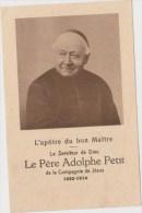 Faire-part De Décès Du Père Adolphe Petit  ( 1822-1914) - Obituary Notices