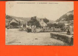 25 La Grace-Dieu - Entrée De L'abbaye - Excursion En Franche Comté   (état : Abîmée En Haut) - Other Municipalities