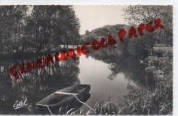 27 -  IVRY LA BATAILLE - PAYSAGE SUR L' EURE - L' EGLISE - Ivry-la-Bataille