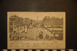 CP, IRLANDE, Sackville Street Dublin RARE 1903 - Dublin