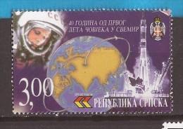 2001  198  GAGARIN  BOSNIEN HERZEGOVINA REPUBLIKA SRPSKA GAGARIN WELTRAUM  WOSTOK KOSMOS  MNH - Space