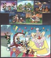 Walt Disney  MiNr. 2219 - 2226 (Block 347) Grenada/Grenadinen  MNH / ** / POSTFRISCH - Disney