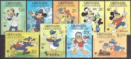 Walt Disney  MiNr. 357 - 365 Grenada/Grenadinen  MNH / ** / POSTFRISCH - Disney