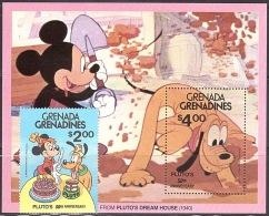 Walt Disney  MiNr. 428 - 429 (Block 52) Grenada/Grenadinen  MNH / ** / POSTFRISCH - Disney