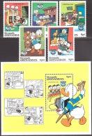 Walt Disney  MiNr. 641 - 646 (Block 89) Grenada/Grenadinen  MNH / ** / POSTFRISCH - Disney