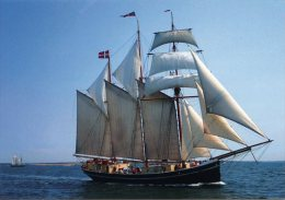 P. DENMARK / DANEMARK - Velero / Sailing Ship / Voilier / Segelschiff / Sejlskib / Zeilschip - Voiliers