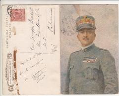 Armando Diaz 1920 Cartolina Doppia - Personaggi