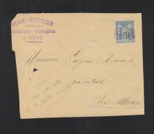 Fragment Sedan - Poststempel (Briefe)