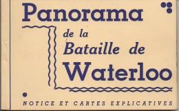 Belgique  Panorama En 12 Vues De La Bataille De WATERLOO - Nivelles