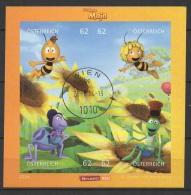 (O) Austria (2014) - Block -   /  Cartoons - Comics - Bee - Maja - Abeja - Maya - Abeille - Comics