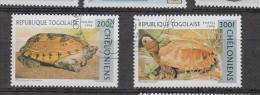 Togo YV 1518/9 O 1996 Tortue - Turtles