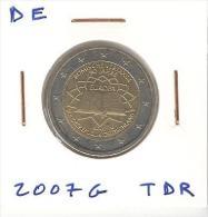2 Euros CC UNC Allemagne / Germany TDR 2007 G - Duitsland