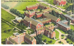 Florida State College For Women, From The Air, Tallahassee, Florida - United States