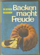 """Livre Ancien 1963 """"Backen Macht Freude"""" - Schulbücher"""