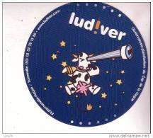 AUTOCOLLANT  -   LUD  !   VER   -  Observatoire Planétarium Du Cap De La Hague - Pegatinas