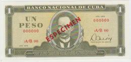 Cuba 1 Peso 1978 Pick 102 UNC Specimen
