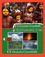 GERMANY / ALLEMAGNE / Phonecard / Deutsche Umwelthilfe / O 178 B / mint / Papuas aus Neuguinea