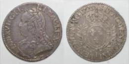 1715 - 1774 - LOUIS XV - 1/5 ECU AUX BRANCHES D'OLIVIER - 1729 I - LIMOGES - Coins