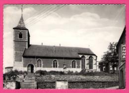 """Arquennes - L'Eglise - Le Vieux Cimetière - La Maison Communale - BAYOT - Magasin """" HANNA PILS """" - Seneffe"""