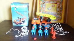 Playmobil 3236 Camion De Pompier Vintage Avec Boite - Playmobil