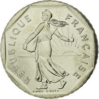 [#27642] V�me R�publique, 2 Francs Semeuse 1990, KM 942.1