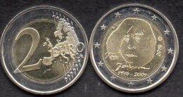 Sonderedition 2EURO Finnland 2014 Stg.8€ Jubiläum Tove Janson 2001 Helsinki Finlande 2€-Münze New Coins Of Soumi Finland - Finlande