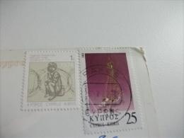 STORIA POSTALE FRANCOBOLLO COMMEMORATIVO Cipro - Cipro