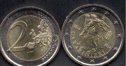 Sondermünze 2€ Italien 2014 Stg. 10€ Edition 200 Jahre Polizei Carabinieri 1814 Auf 2 EURO-Münze Rom Miliz Coin Of Italy - Italië