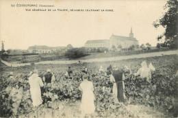 Echournac (24) Religieux Cultivant La Vigne - Other Municipalities