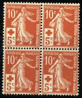 N°147 - Bloc De 4 - TB - 1906-38 Sower - Cameo