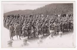 Carte-Photo - 152e RI Pour Cérémonie Au Vieil Armand - N'a Pas Circulé - Regiments