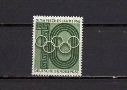 Germany 1956 Olympic Games Stamp MNH - Non Classés