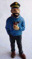 FIGURINE TINTIN  BULLY 1990 HADDOCK 1er Tirage PLASTIQUE MOU Bullyand - Tintin