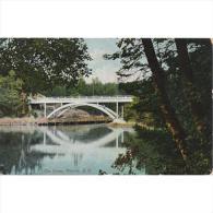 EUDTP0765C-LFD1624TEVSC. TARJETA POSTAL DE ESTADOS UNIDOS(USA) Puente Reflejado En Agua Del Lago - Sin Clasificación