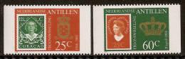 Antillen / Antilles 1980 Stamp On Stamp From Booklet MNH - Curaçao, Antilles Neérlandaises, Aruba
