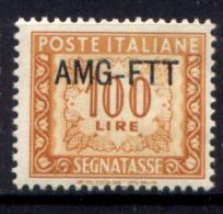 Trieste A 1949 Segnatasse 100£ Sass. S27**/MNH VF - 7. Triest