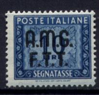 Trieste A 1947 Segnatasse 10£ Sass. S12**/MNH VF - 7. Trieste