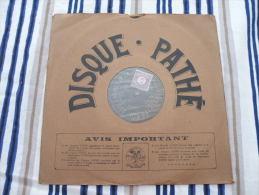 Disque Pathé Saphir 90 à 100 Tour,29cm - 4406 & 4401 Les Larmes De La Vie, Lettre à La Première - 78 Rpm - Gramophone Records