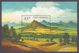 Czech Republic 2009 - Ceske Stredohori, Volcanic Region, Monts Volcaniques, Landscapes, Mountains, Volcanoes S/S MNH - Blocks & Kleinbögen