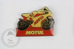 Motul Racing Motorcycle - Pin Badge #PLS - Motos