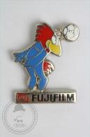 1998 FIFA World Cup Mascot: Footix - Fujifilm Advertising - Pin Badge #PLS - Fútbol