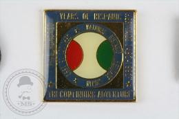 Five Hundred Years Of Hispanic Heritage - Pin Badge #PLS - Badges