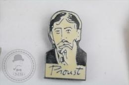 Marcel Proust - Pin Badge #PLS - Personajes Célebres