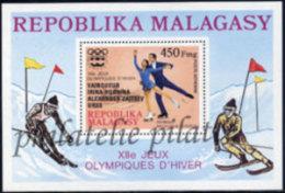 -Madagascar Bloc  14** - Madagascar (1960-...)
