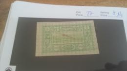 LOT 226161 TIMBRE DE COLONIE COTE SOMALIS NEUF* N�27 VALEUR 14 EUROS